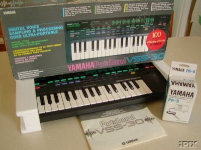 Yamaha VSS-30 Manual